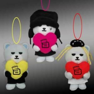 KRUNK BIGBANG カラフルハートマスコット1
