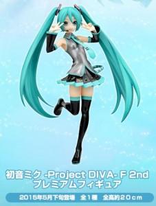 初音ミク -Project DIVA-F 2nd PMフィギュア セガ